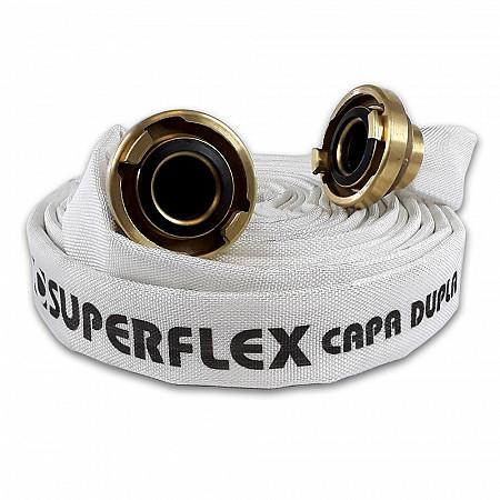 MANGUEIRA DE INCÊNDIO TIPO 3  SUPERFLEX CAPA DUPLA